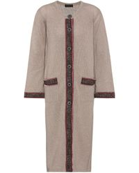 Etro - Wool And Cashmere Cardigan - Lyst
