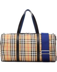 Burberry - Vintage Check Travel Bag - Lyst