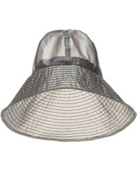 Maison Michel - Julianne Wide-brim Hat - Lyst