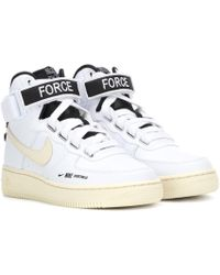 Nike - Air Force 1 Leather Sneakers - Lyst