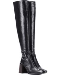 Acne Studios - Sonny Leather Over-the-knee Boots - Lyst