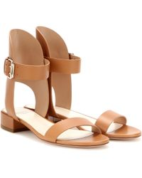 Francesco Russo | Leather Sandals | Lyst
