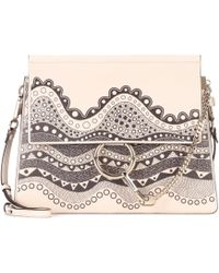 Chloé - Exclusive To Mytheresa. Com – Faye Leather Shoulder Bag - Lyst