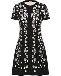 KENZO - Cheongsam Flower Jacquard Dress - Lyst