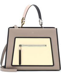 Fendi - Runaway Leather Shoulder Bag - Lyst e742767e967d8