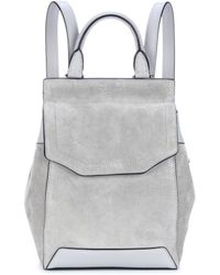 Rag & Bone - Mini Pilot Suede Backpack - Lyst