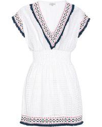 Talitha - Cotton Eyelet Dress - Lyst