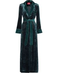 F.R.S For Restless Sleepers - Roda Velvet Corduroy Dress - Lyst