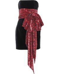 Alexandre Vauthier - Embellished Bustier Minidress - Lyst