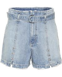 Jonathan Simkhai - Embellished Denim Shorts - Lyst