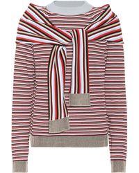 Isa Arfen - Striped Cotton Jumper - Lyst