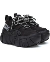 84a964db9c44 Vetements - X Swear Nubuck Platform Sneakers - Lyst