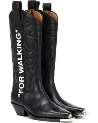 Off-White c/o Virgil Abloh - For Walking Cowboy Boots - Lyst