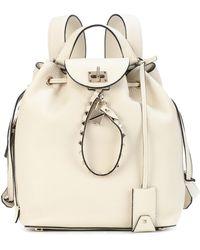 Valentino - Garavani Twiny Leather Backpack - Lyst