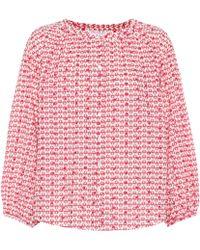 Velvet - Bluse Oprah aus Baumwolle - Lyst