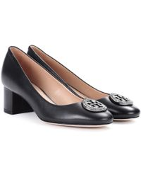 Tory Burch - Liana Leather Court Shoes - Lyst
