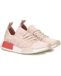 d498a4afc Lyst - adidas Originals Adidas Nmd r1 Stlt Primeknit W Cloud White ...