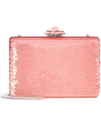 Oscar de la Renta | Rogan Sequinned Box Clutch | Lyst
