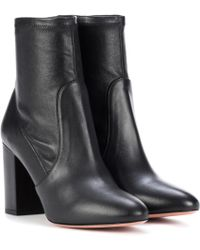 Aquazzura - Leather Ankle Boots - Lyst