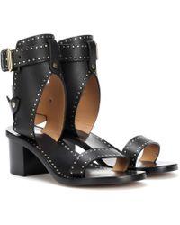 Isabel Marant - Jaeryn Studded Leather Sandals - Lyst