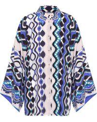 Emilio Pucci - Printed Silk Shirt - Lyst