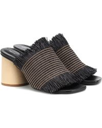 Proenza Schouler - Raffia Sandals - Lyst