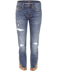 Polo Ralph Lauren - Embroidered Jeans - Lyst