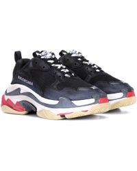 Balenciaga - Triple S Sneaker Black - Lyst