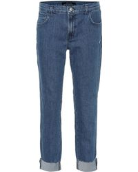 J Brand - Mid-Rise Jeans Johnny - Lyst