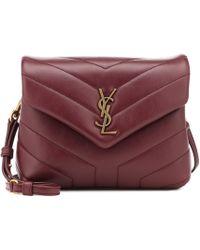 Saint Laurent - Toy Loulou Leather Shoulder Bag - Lyst