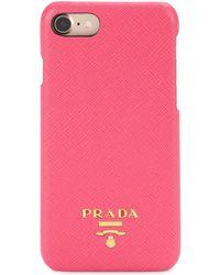 Prada - Iphone 6 Leather Phone Case - Lyst