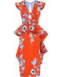 Johanna Ortiz - Kalahari Floral-printed Cotton Dress - Lyst