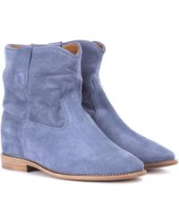 Isabel Marant - Crisi Suede Ankle Boots - Lyst