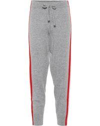 Jardin Des Orangers - Wool And Cashmere Jogger Pants - Lyst
