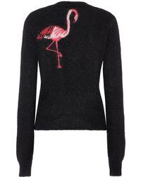 Saint Laurent - Flamingo Mohair-blend Jumper - Lyst