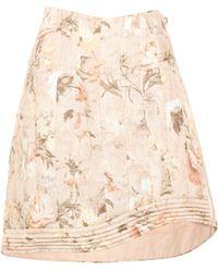 Zimmermann - Bowerbird Floral-printed Linen Skirt - Lyst