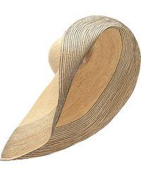 1e472fd7faa Lola Hats - Spinner Raffia Hat - Lyst