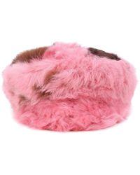Prada - Fur Hat - Lyst