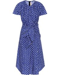 Marni - Printed Cotton Dress - Lyst
