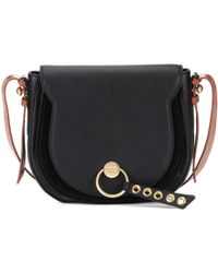 See By Chloé - Lumir Large Leather And Suede Shoulder Bag - Lyst