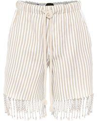 Loewe - X Paula's Ibiza Shorts aus Baumwolle - Lyst