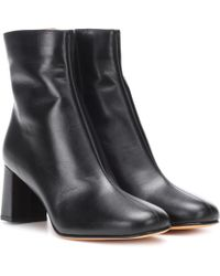 Maryam Nassir Zadeh - Agnes Leather Ankle Boots - Lyst