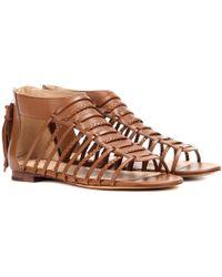Polo Ralph Lauren - Jadine Leather Gladiator Sandals - Lyst