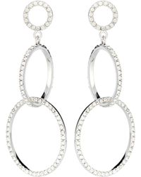 Isabel Marant - Hoop Drop Earrings - Lyst