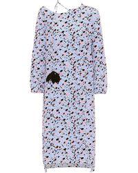 Marni - Printed Silk Dress - Lyst