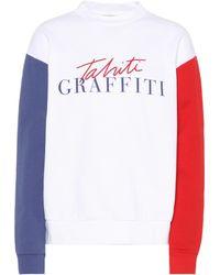 Être Cécile - Tahiti Printed Cotton Sweatshirt - Lyst