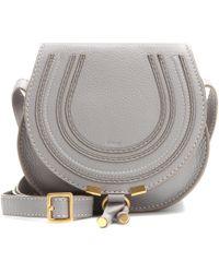 Chloé - Marcie Mini Leather Cross-body Bag - Lyst