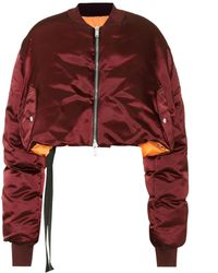 Unravel - Reversible Cropped Down Jacket - Lyst