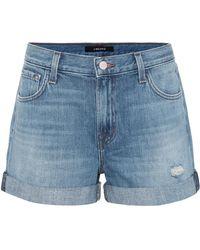 J Brand - Shorts di jeans Johnny - Lyst