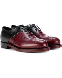 Pierre Hardy - Leather Oxford Shoes - Lyst